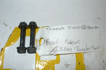 TRIUMPH SPRINT ST 1050 FRONT FAIRING STAY BOLTS #1(CON-D)